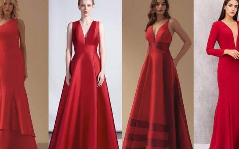 Saiba como arrasar com vestidos vermelhos
