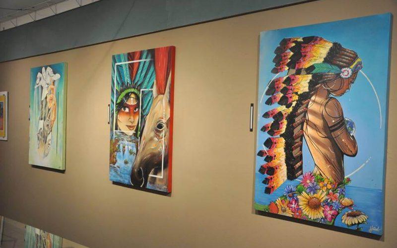 Arte do grafite colore a Galeria Myralda com belas obras