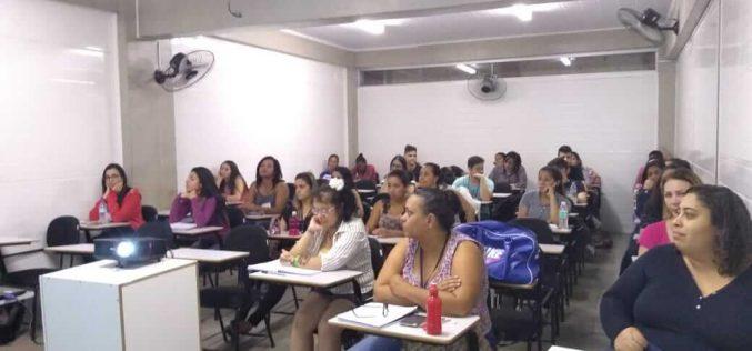 Treinamento Introdutório para candidatos às funções de Agente Comunitário de Saúde (ACS) iniciou semana passada