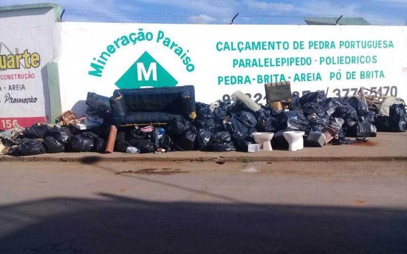 Mutirão contra a dengue recolhe 46 toneladas de inservíveis em Sete Lagoas