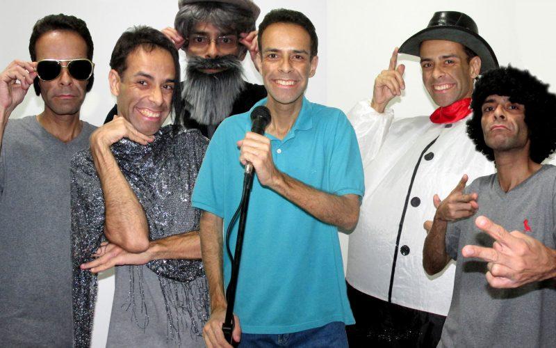 Plateia dá muitas risadas no show deRicardoBello