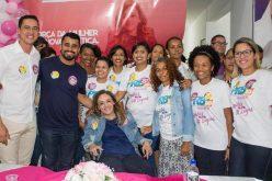 Mais de 300 mulheres levam seu apoio a Douglas Melo em lançamento do Comitê Feminino