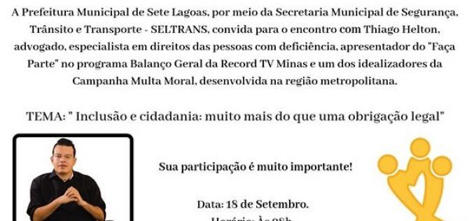"""Semana Nacional do Trânsito traz projeto """"Auto Escola +"""""""