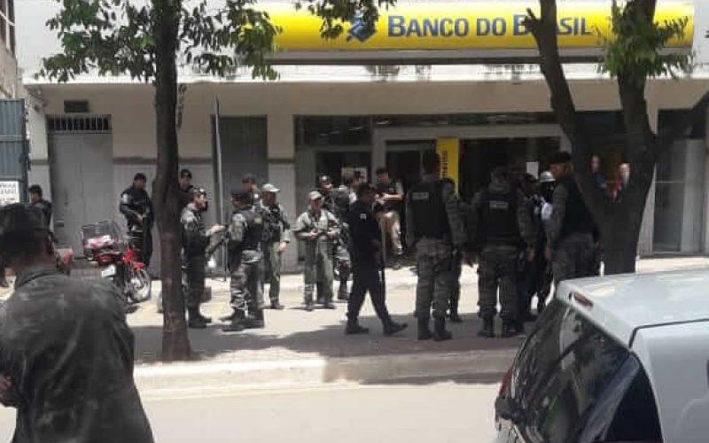 Agência do Banco do Brasil é tomada por assalto em Matozinhos