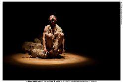 Sãos Franciscos, o santo e o rio, se fundem em espetáculo solo no Teatro Preqaria