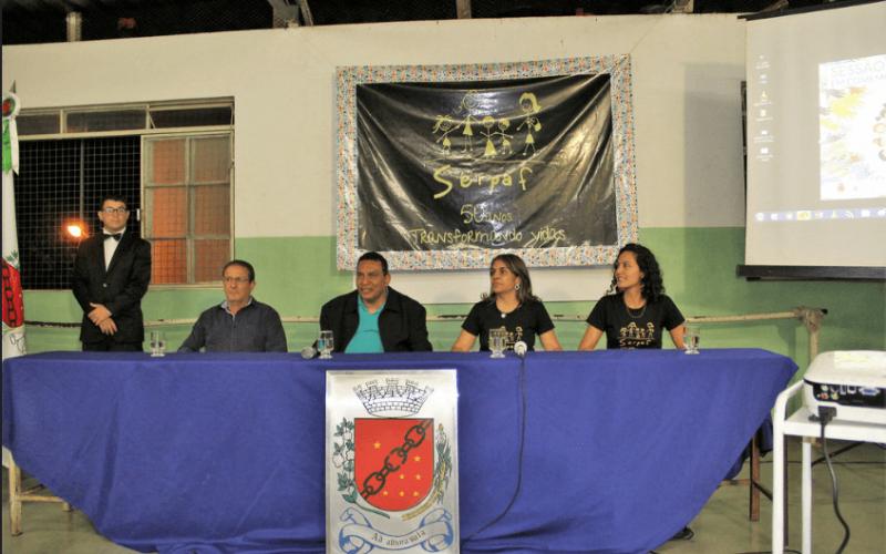 50 anos do Serpaf foi marcado por homenagem realizada pela Câmara Municipal