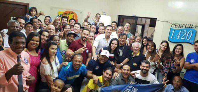 Douglas Melo se consolida como maior liderança da região