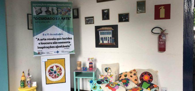 Pacientes dos CAPS expõem trabalhos no Casarão
