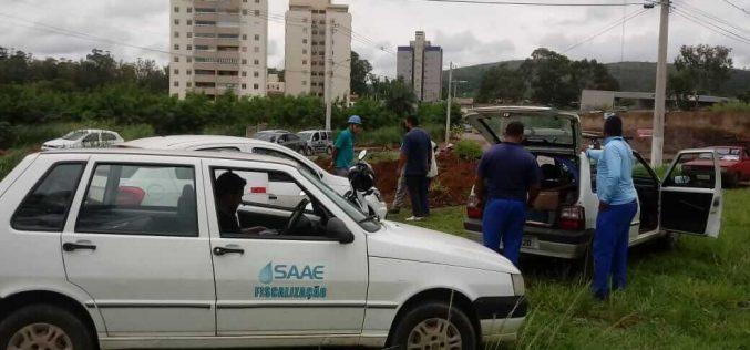 Força tarefa do SAAE na região do bairroEldorado para acabar com falta de água