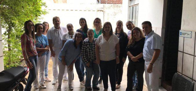 Enfermeiros participam de capacitação sobre procedimentos ginecológicos