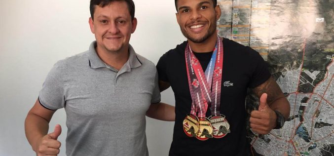 Sete-lagoano é campeão mineiro de Jiu-Jitsu em Belo Horizonte