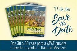 Livro do Mexa-se será lançado na Apae de Sete Lagoas