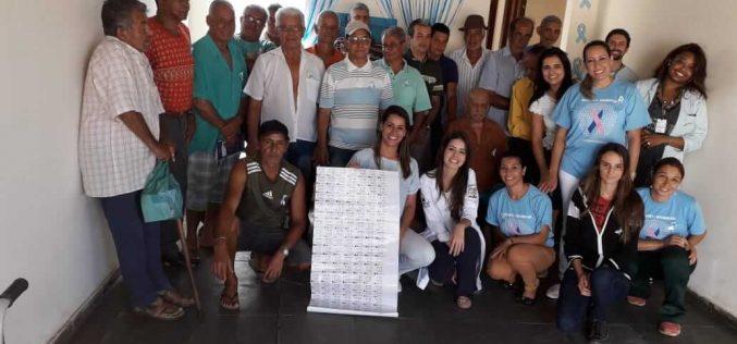 ESF Emília realiza ação de promoção à saúde do homem