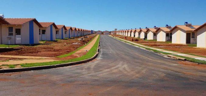 Construção de 500 casas em sua fase final: infraestrutura de qualidade é marca do projeto