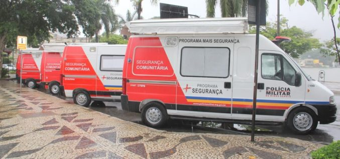 Prefeitura contribui para instalação de quatro novas bases da PM em Sete Lagoas
