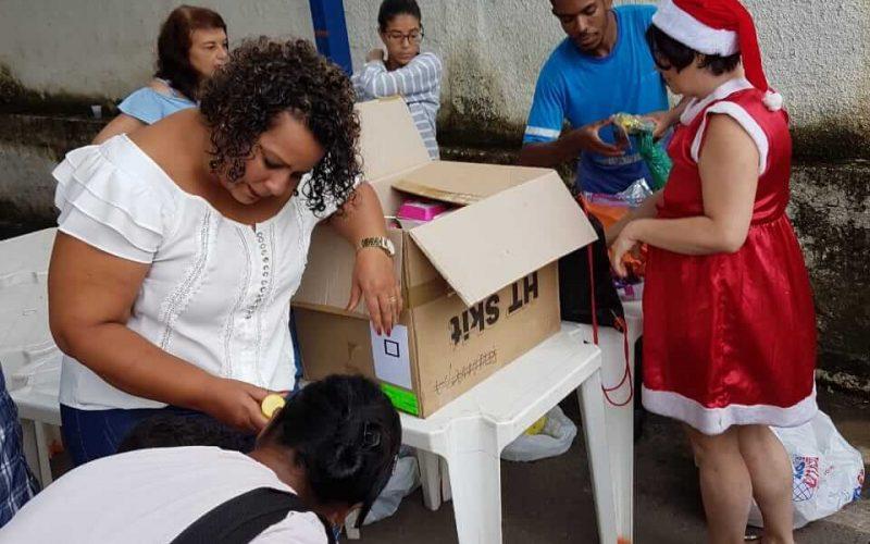 CAPSi realiza festa de natal para usuários da unidade