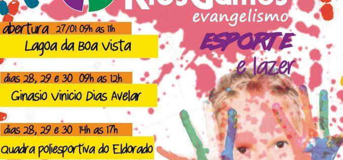 PELC promove o programa KIDSGAMES em Sete Lagoas
