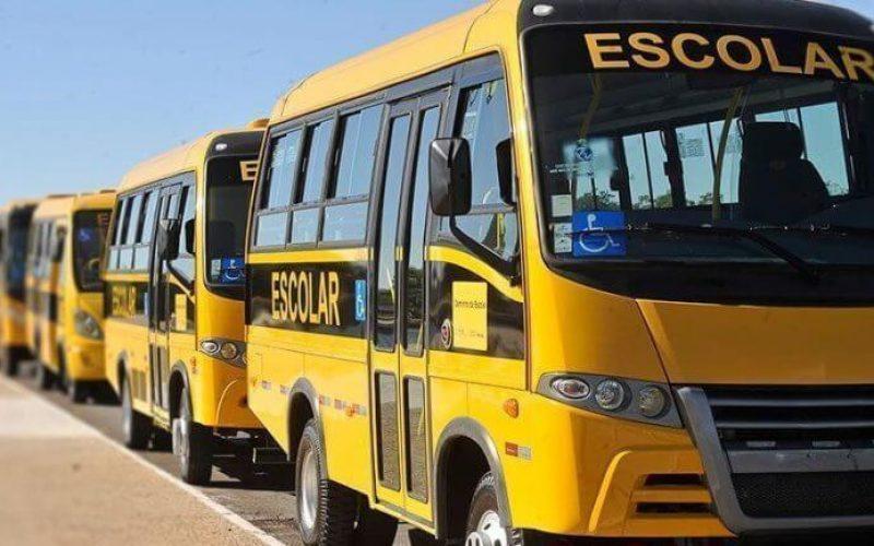 Cadastramento do transporte escolar gratuito vai até 1º de fevereiro