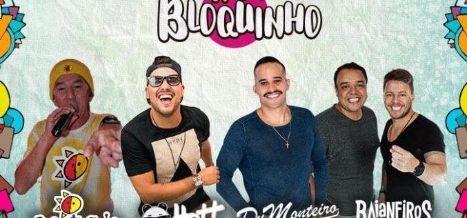 """Mistura   de ritmos embala o esquenta de carnaval do """"Nosso Bloquinho"""""""