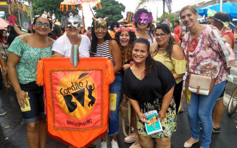 Mulher, criança e adolescente: Campanha de conscientização Pré-Carnaval 2019 movimentou foliões em Sete Lagoas