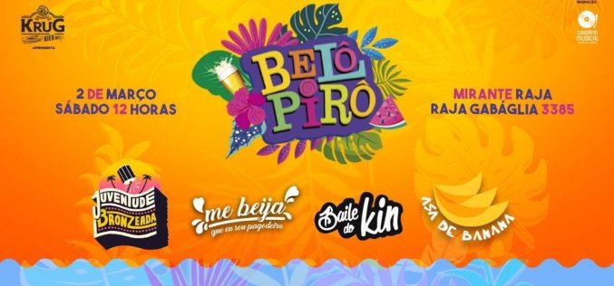 Belô Pirô agita o sábado de carnaval em BH