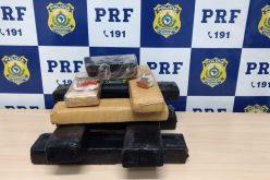 PRF prende homem com cerca de 10 Kg de maconha