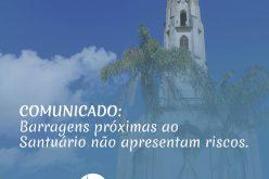 Comunicado: barragens próximas ao Santuário do Caraça não apresentam riscos