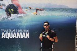 Com foco e menos 23Kg, sete-lagoano é medalha de ouro em travessia no lago de Furnas