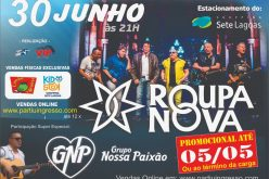 Roupa Nova anuncia show no Shopping Sete Lagoas