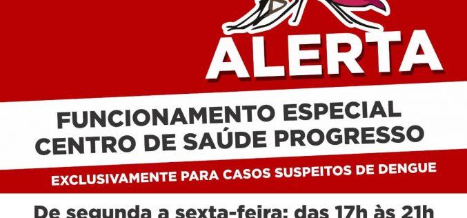 Secretaria de Saúde amplia horário de atendimento de unidade em resposta a aumento nos casos de Dengue