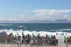 Léo Chaves é sexto PCD no maior festival de águas abertas da América do Sul