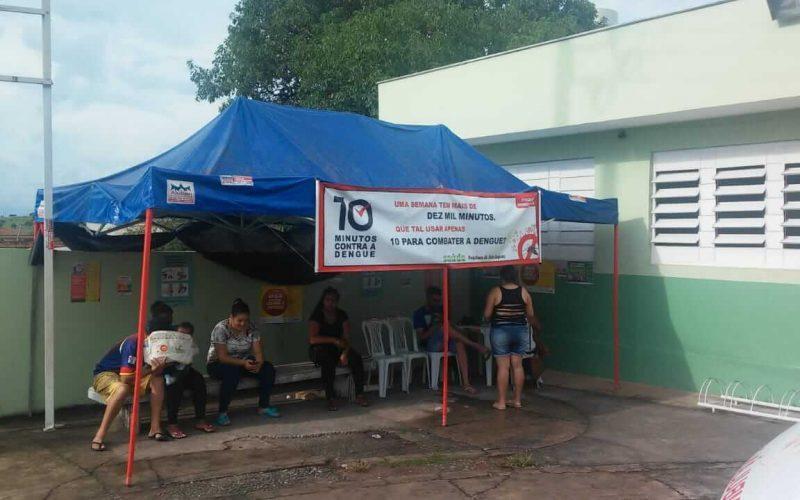 Prefeitura promove ações para barrar o avanço da Dengue e garantir atendimento à população