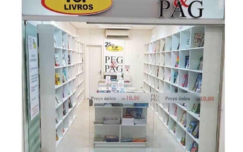 Peg&Pag Top Livros: Livraria sem vendedores e livros com preços populares chegam em Sete Lagoas em breve