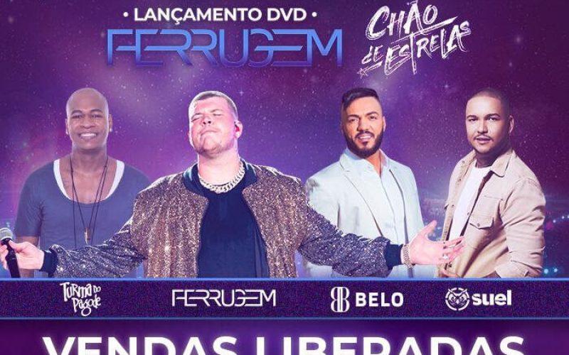 Ferrugem lança Chão de Estrelas, seu novo DVD em BH