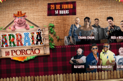 Arraiá do Porcão apresenta Rick e Ricardo, Chama Chuva e Banda do Marcão