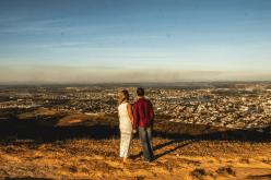 Janaína & Pedro : Casal vencedor do sorteio de namorados realiza sessão de fotos