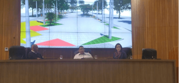 Revitalizada Praça Pedro Maciel deve ser entregue dentro de  50 dias