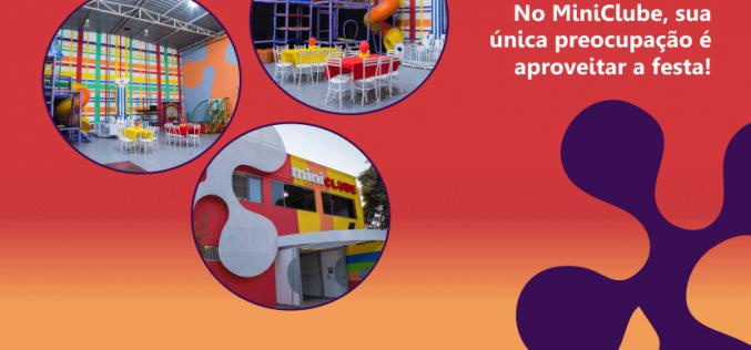 Oficina de Slime e brinquedos liberados na Miniférias do MiniClube