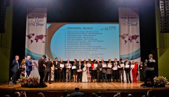 Conferência nacional do BNI é sucesso em Minas