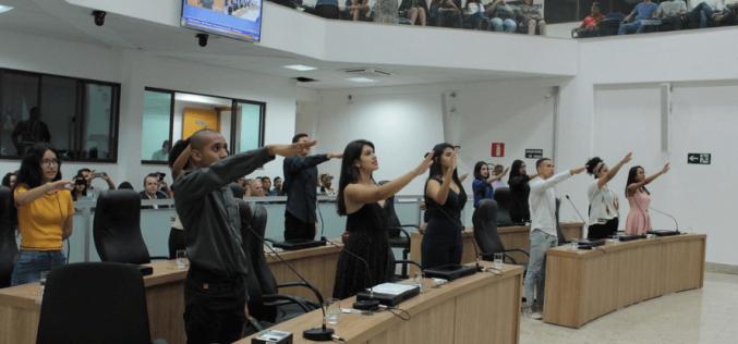 Parlamento Jovem tem segunda legislatura iniciada e Mesa Diretora eleita
