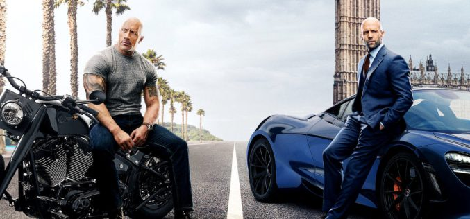 Cinema: Velozes e furiosos- Hobbs e Shaw, Little Monsters e O Irlandês
