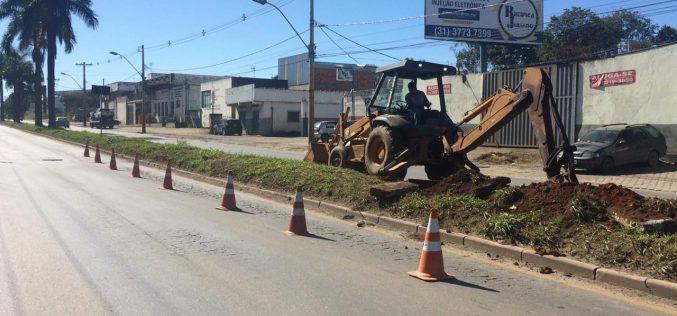 Av. Marechal Castelo Branco: principal via de entrada da cidade começa a ser revitalizada pela Prefeitura