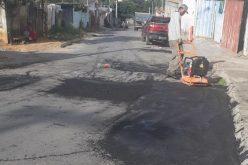 Operação tapa-buracos da Prefeitura não para e já chegou a dezenas de bairros
