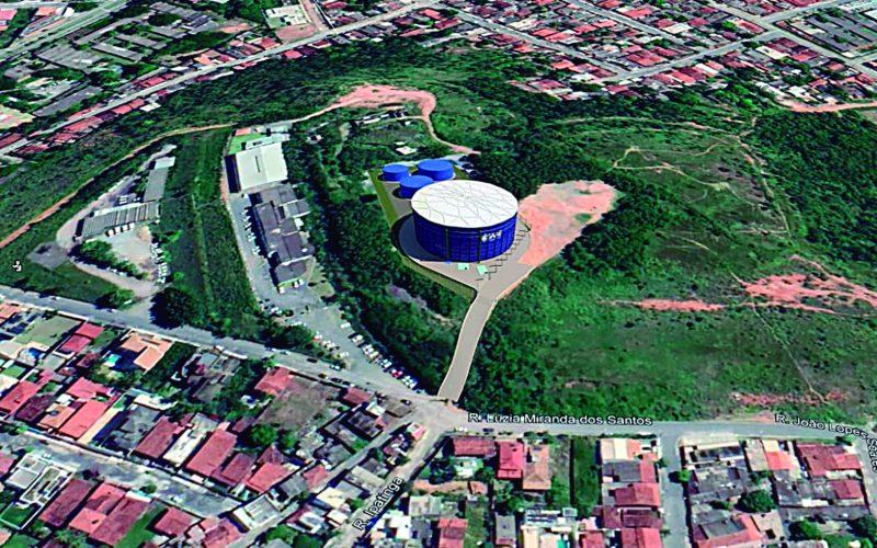 Prefeitura e SAAE assinam contrato para construção do reservatório de 10 milhões de litros de água