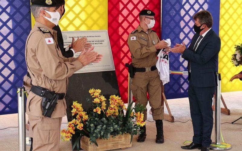 Nova sede do 25º Batalhão da PM é inaugurada e área doada pela Prefeitura