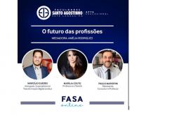 """Fasasete promove o Webinário """"O Futuro das Profissões"""""""