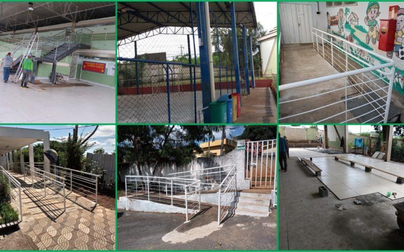 Escolas municipais recebem obras para garantir mais segurança e acessibilidade