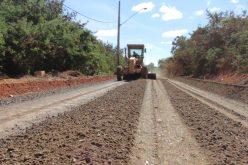 Prefeitura inicia 2ª fase da pavimentação da estrada que liga Sete Lagoas a Estiva e Silva Xavier