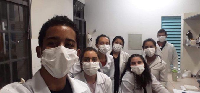 Projeto de estudantes da Escola Técnica transforma bitucas de cigarro em vasos biodegradáveis