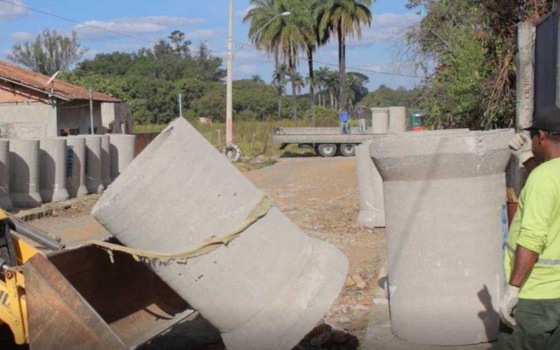 Prefeitura inicia obras de drenagem, pavimentação e urbanização na rua Aldo Costa
